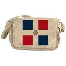 Flag of the Dominican Republic Messenger Bag