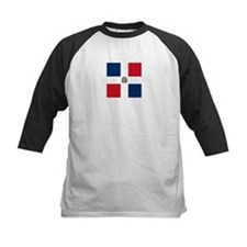 Flag of the Dominican Republic Baseball Jersey