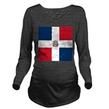 Flag of the Dominican Republic Long Sleeve Materni