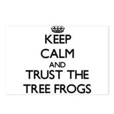 Keep calm and Trust the Tree Frogs Postcards (Pack