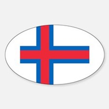 Flag of the Faroe Islands Decal