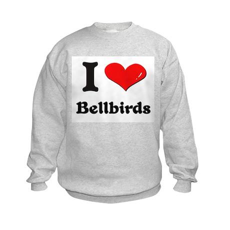 I love bellbirds Kids Sweatshirt