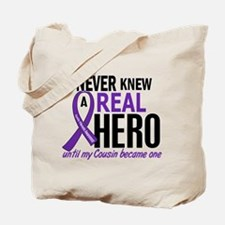 Cystic Fibrosis Real Hero 2 Tote Bag