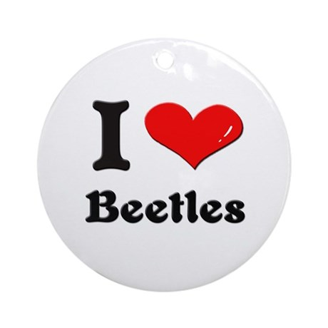 I love beetles Ornament (Round)
