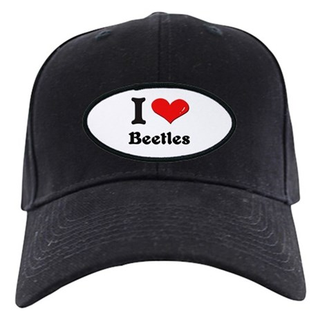 I love beetles Black Cap