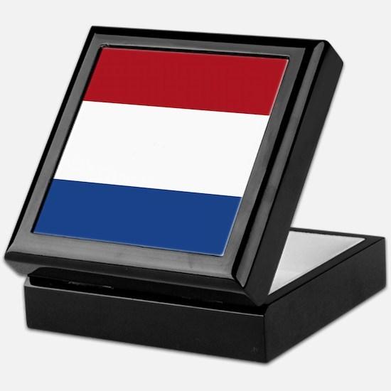 Flag of the Netherlands Keepsake Box