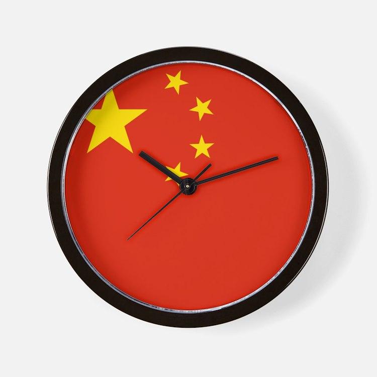 Flag of China Wall Clock