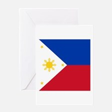 Flag of the Philippines Greeting Cards