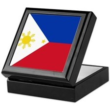 Flag of the Philippines Keepsake Box