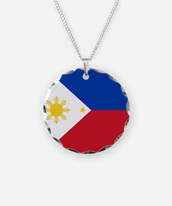Flag of the Philippines Necklace