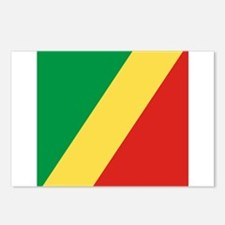Flag of the Republic of the Congo Postcards (Packa