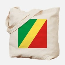 Flag of the Republic of the Congo Tote Bag