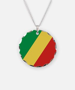 Flag of the Republic of the Congo Necklace