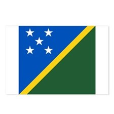 Flag of the Solomon Islands Postcards (Package of