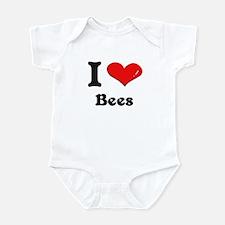 I love bees  Infant Bodysuit