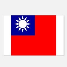 Flag of Taiwan Postcards (Package of 8)