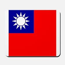 Flag of Taiwan Mousepad