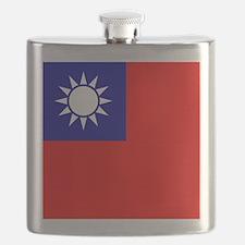 Flag of Taiwan Flask