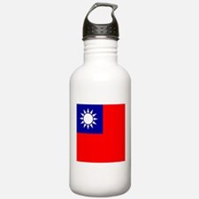 Flag of Taiwan Sports Water Bottle