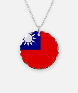 Flag of Taiwan Necklace