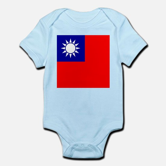 Flag of Taiwan Body Suit