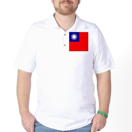 Flag of Taiwan Golf Shirt