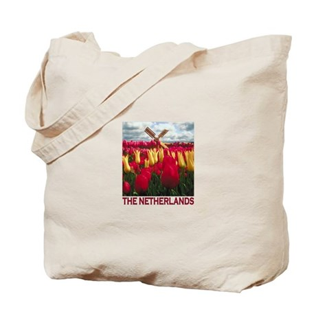 Netherlands Tulips Tote Bag