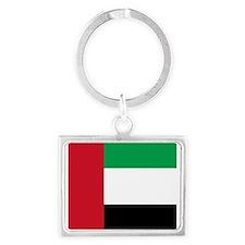 Flag of the United Arab Emirates Keychains