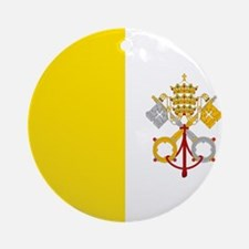 Flag of Vatican City Ornament (Round)