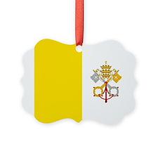 Flag of Vatican City Ornament