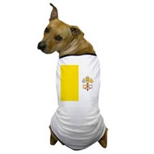 Flag of Vatican City Dog T-Shirt