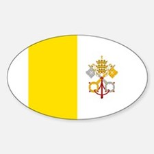 Flag of Vatican City Decal
