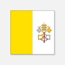 Flag of Vatican City Sticker