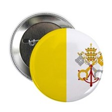 "Flag of Vatican City 2.25"" Button"