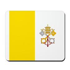 Flag of Vatican City Mousepad