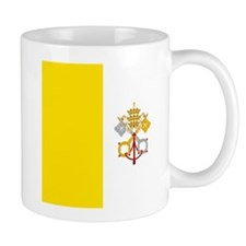 Flag of Vatican City Mugs