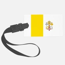 Flag of Vatican City Luggage Tag