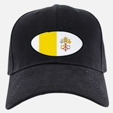 Flag of Vatican City Baseball Cap