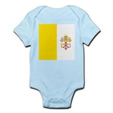 Flag of Vatican City Body Suit