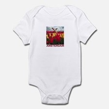 Amsterdam Tulips Infant Bodysuit