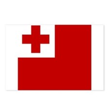 Flag of Tonga Postcards (Package of 8)
