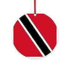 Flag of Trinidad and Tobago Ornament (Round)