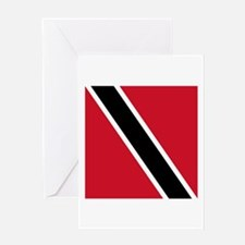 Flag of Trinidad and Tobago Greeting Cards