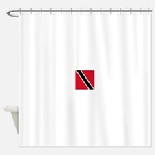 Flag of Trinidad and Tobago Shower Curtain