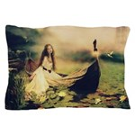 Lady Of Shallot Pillow Case