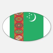 Flag of Turkmenistan Decal