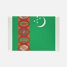 Flag of Turkmenistan Magnets