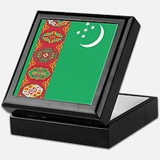 Flag of Turkmenistan Keepsake Box