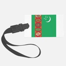 Flag of Turkmenistan Luggage Tag