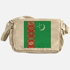 Flag of Turkmenistan Messenger Bag
